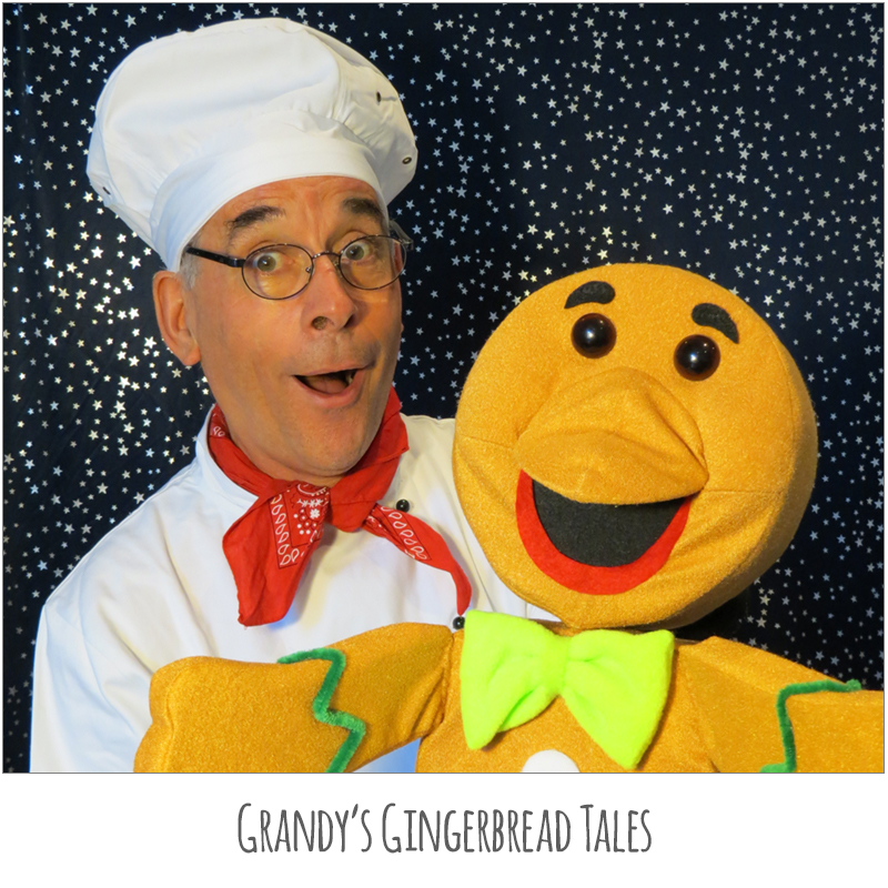 Grandy's Gingerbread Tales (Current Show) - Satellite Arts