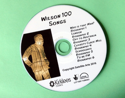 Image of Wilson 100 Songs CD